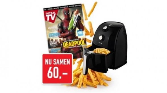1 jaar Totaal TV + Inventum Air Fryer voor 60,- euro