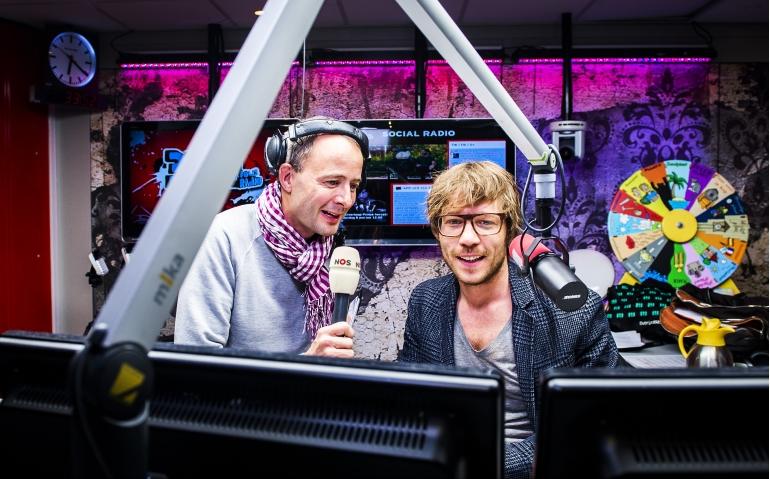 Giel Beelen bevestigt vertrek 3FM