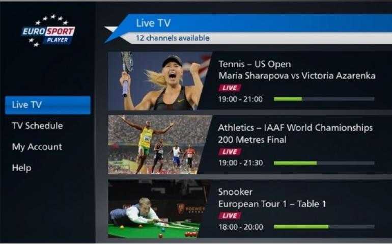 Eurosport investeert in online kijken