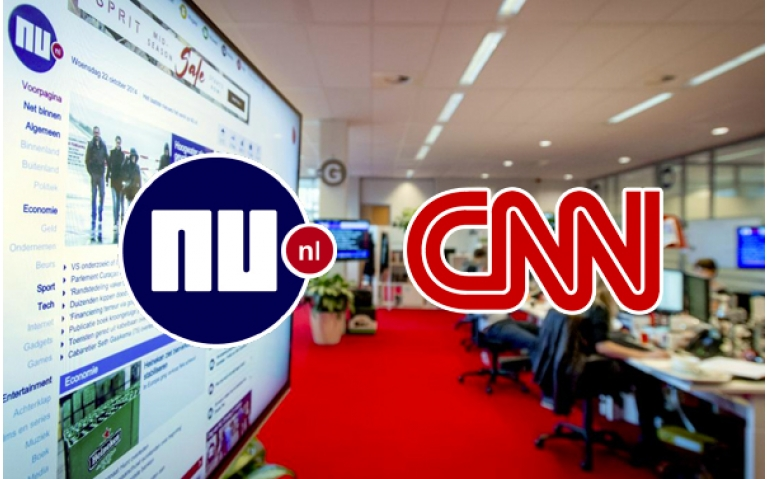 CNN en NU.nl slaan handen ineen