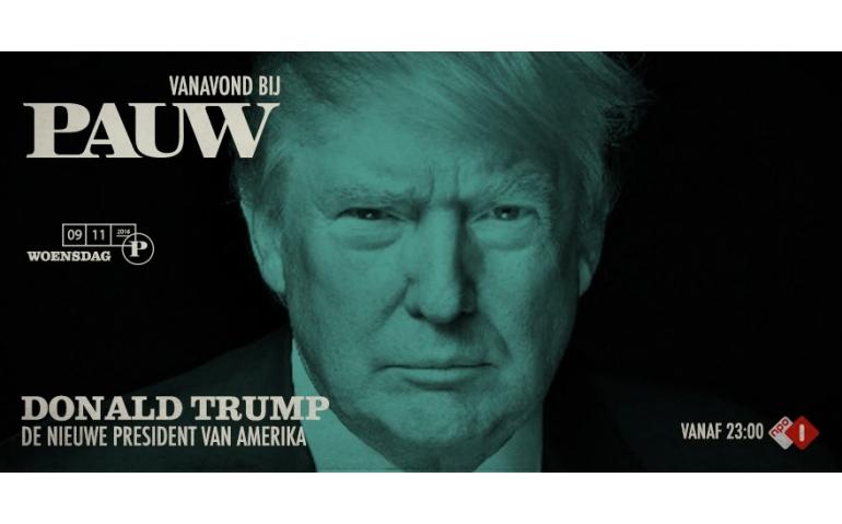 NPO 1 wijzigt programmering wegens overwinning Trump