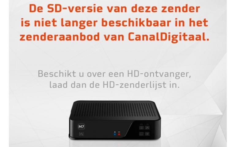 Definitief einde SD-uitzendingen CanalDigitaal via de Astra-1
