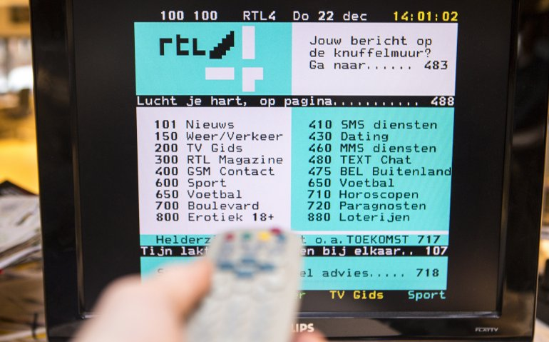 RTL-zenders stoppen met teletekst