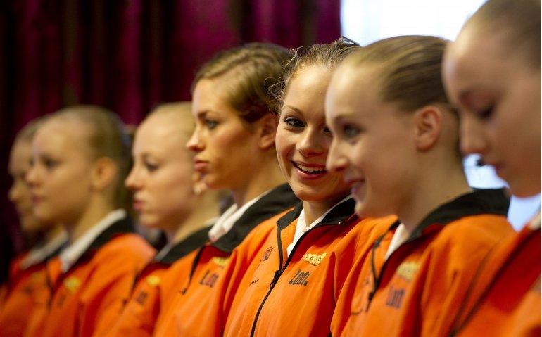 Olympische turners oudjaarsavond in Gym Gala bij Ziggo