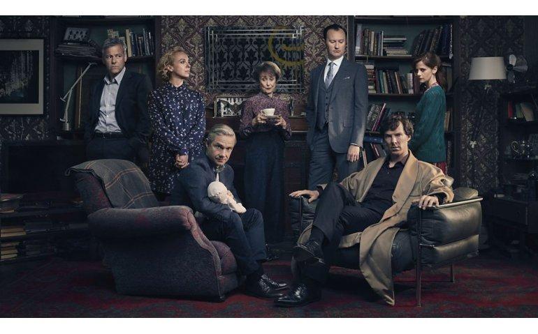 Nieuwe serie Sherlock zowel op BBC First als BBC One