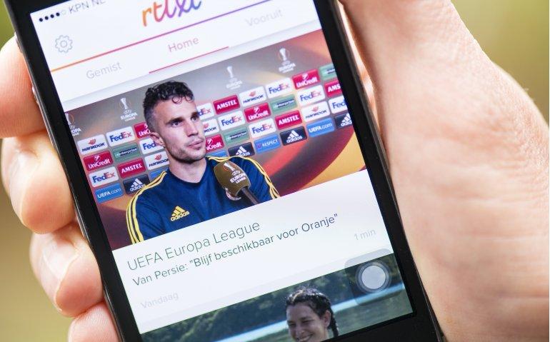 Interactieve reclame bij online dienst RTL XL
