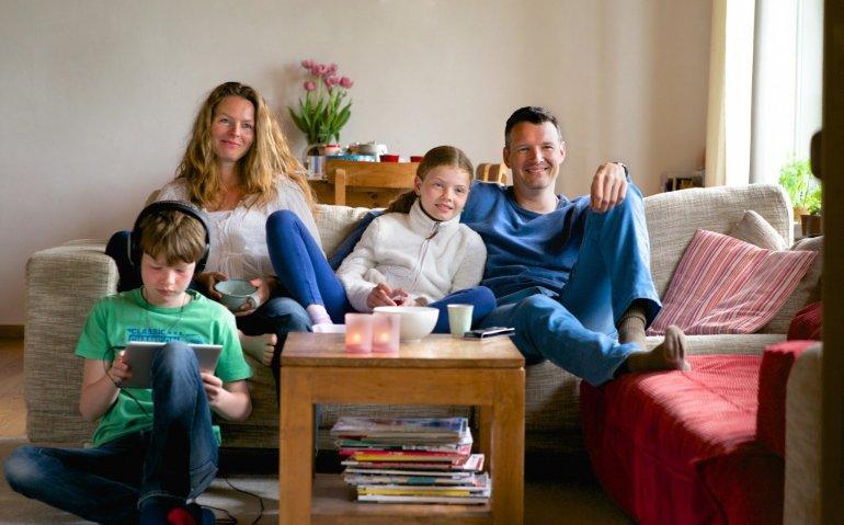Meer internettelevisies in de huiskamer