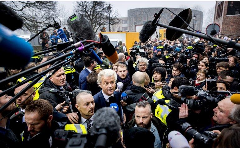NOS door het stof over berichtgeving campagne Wilders