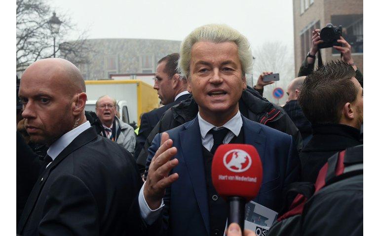 Rob Geus interviewt Geert Wilders voor SBS