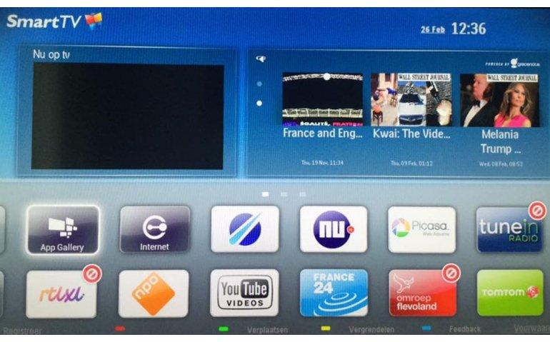 Apps regionale omroepen alleen nog via nieuwere smart tv's