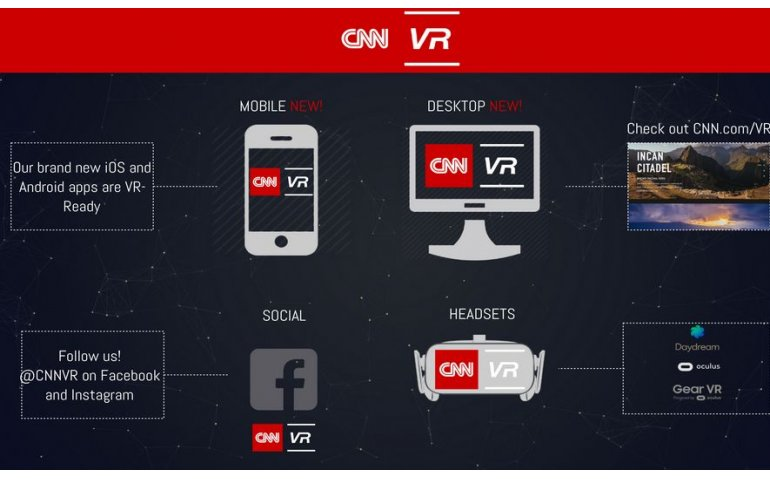 CNN omarmt Virtual Reality