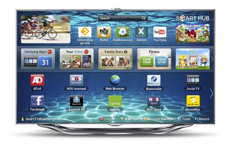 Samsung kan beveiligingslek Smart  TV internettelevisies dichten