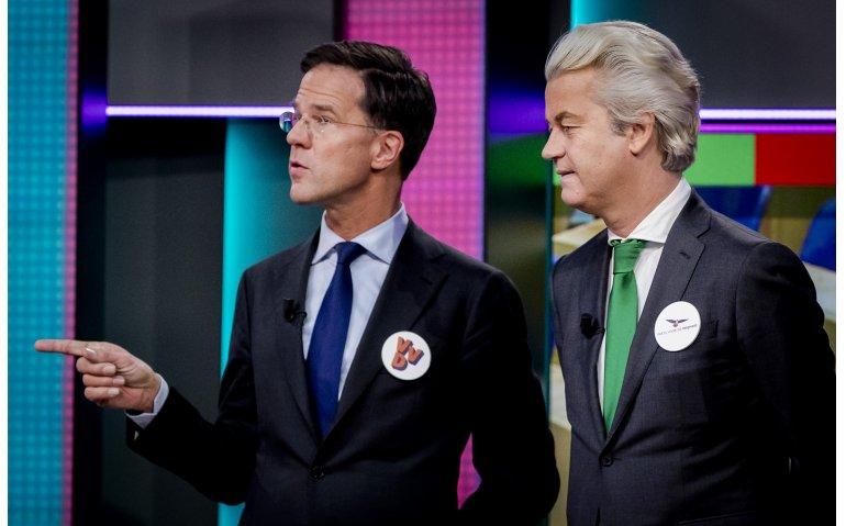 Debat Rutte en Wilders live op NPO 1