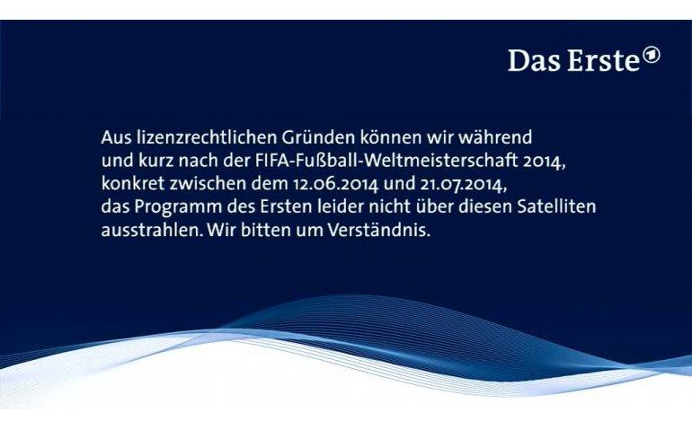 ARD stopt satellietverspreiding