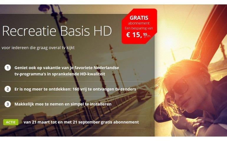 TV Oranje in recreatiepakket CanalDigitaal