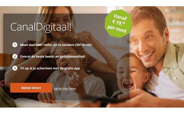 CanalDigitaal neemt nieuwe website in gebruik