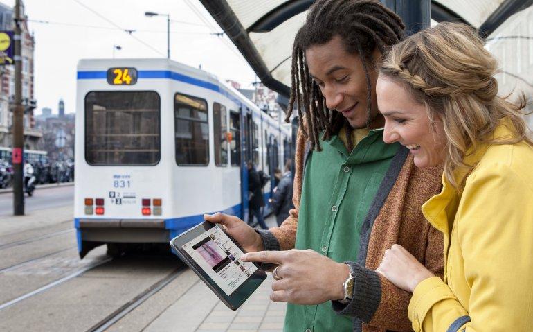 Mobiel internet door hevige concurrentie goedkoper
