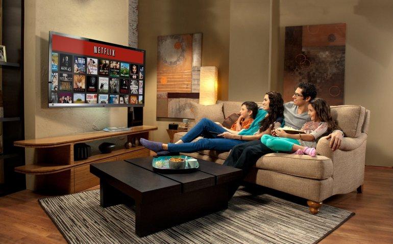 Netflix doet aanbeveling gebruik televisies