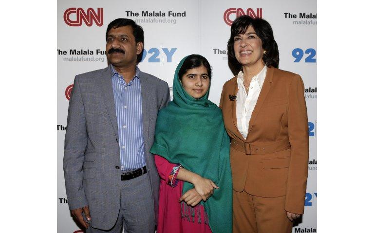 CNN-boegbeeld Amanpour in College Tour
