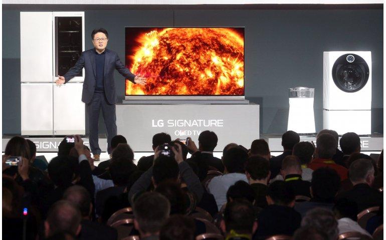 Flinterdunne LG TV dit voorjaar in Nederland verkrijgbaar