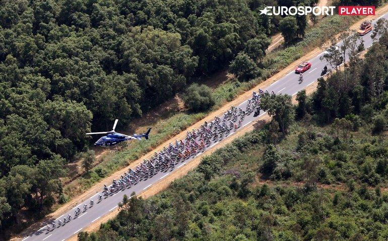 Eurosport mag geen splitscreen reclame tijdens Giro d'Italia uitzenden