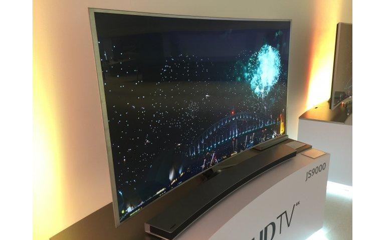 Samsung houdt vast aan gebogen televisie