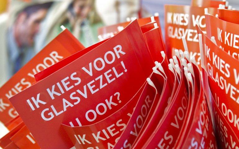 Meer  dan miljoen glasvezelhuishoudens in Nederland