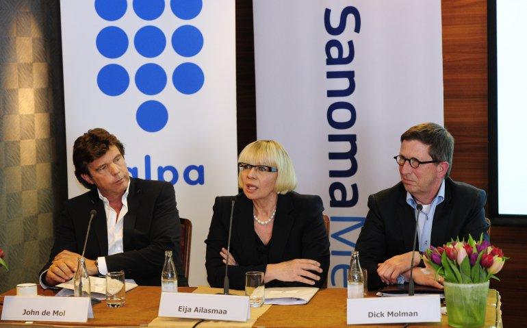 John de Mol streeft naar krachtig Nederlands multimediabedrijf