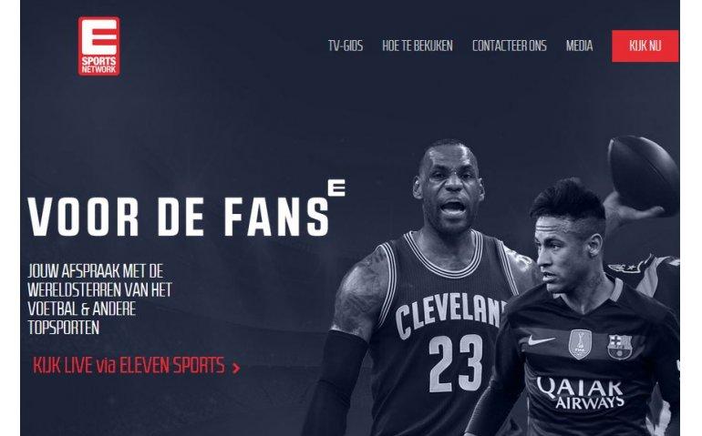 Nieuw derde kanaal Eleven Sports in heel België