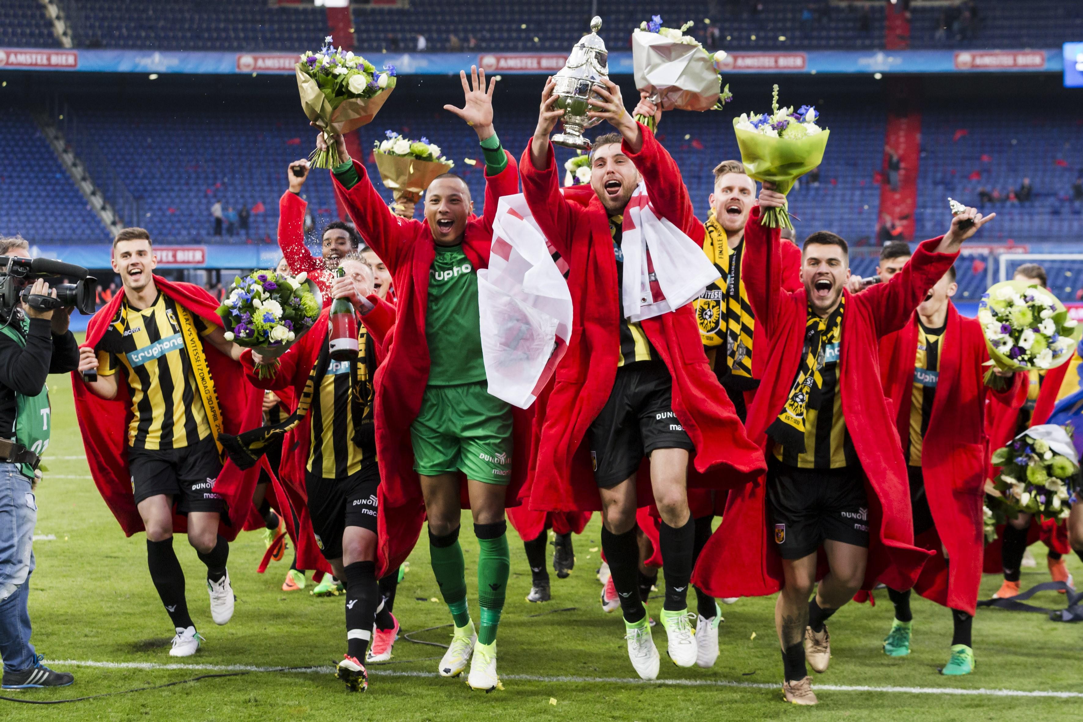 Huldiging bekerwinnaar Vitesse live op Omroep Gelderland