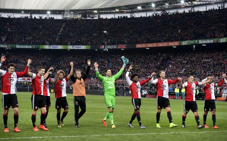 Kampioenswedstrijd Feyenoord live op tv en radio