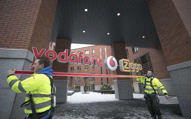 VodafoneZiggo begint in mineur: verlies 70.000 klanten