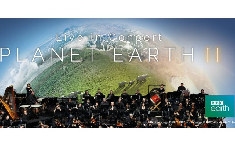 BBC organiseert weer Planet Earth in concert in Ahoy
