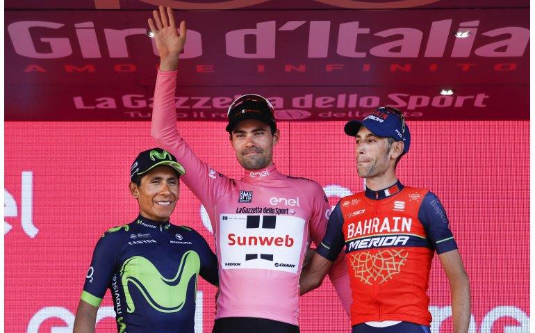 1,8 miljoen kijkers zien Tom Dumoulin op Eurosport Giro d'Italia winnen