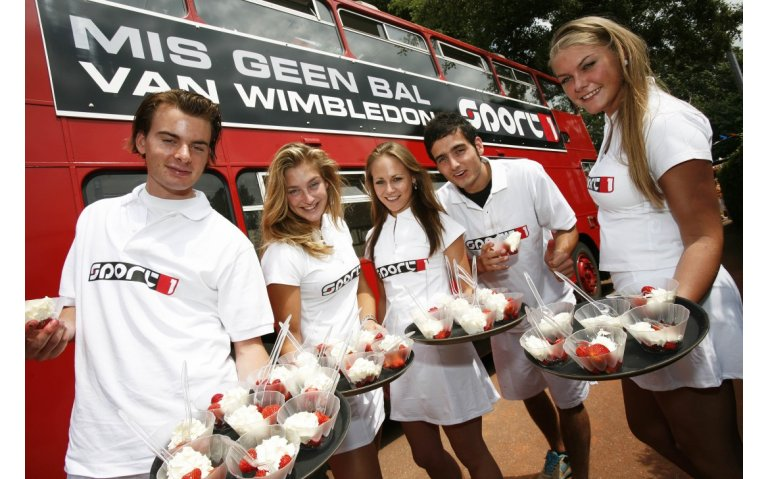 Tennistoernooi Wimbledon live op tv, radio en internet