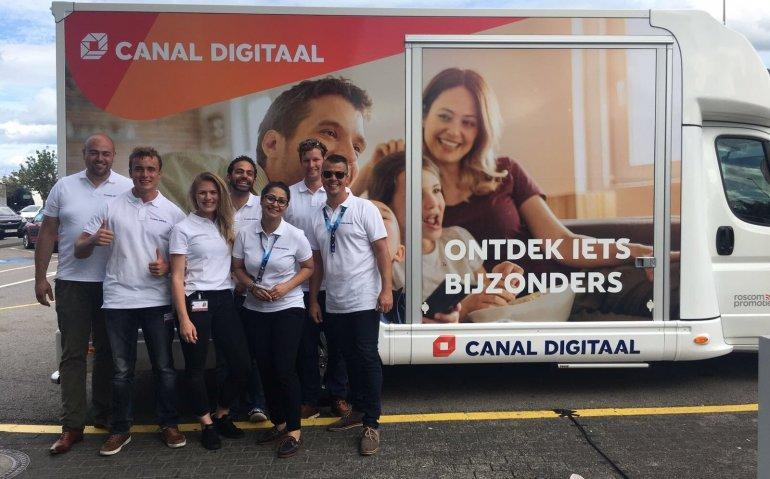 Canal Digitaal verrast vakantiegangers