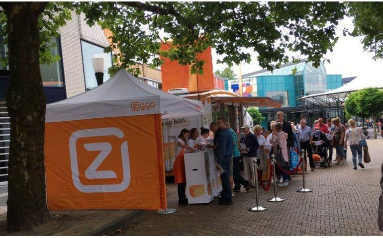 Ziggo trakteert vaste klanten op gratis gebak