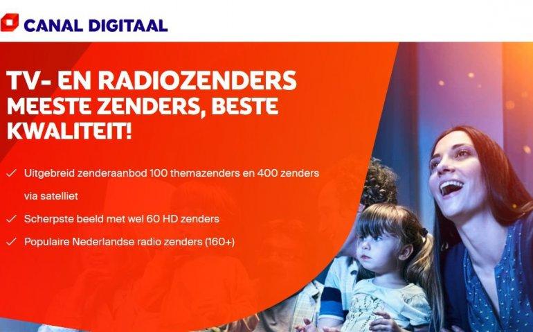 Canal Digitaal voegt EPG toe bij radiozenders