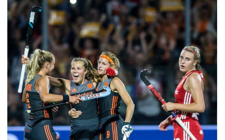 EK Hockeyfinale dames Nederland-België op Canvas en NPO 3