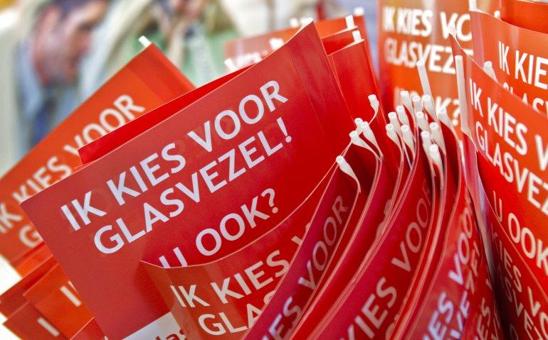 Nederland blijft achter met glasvezel
