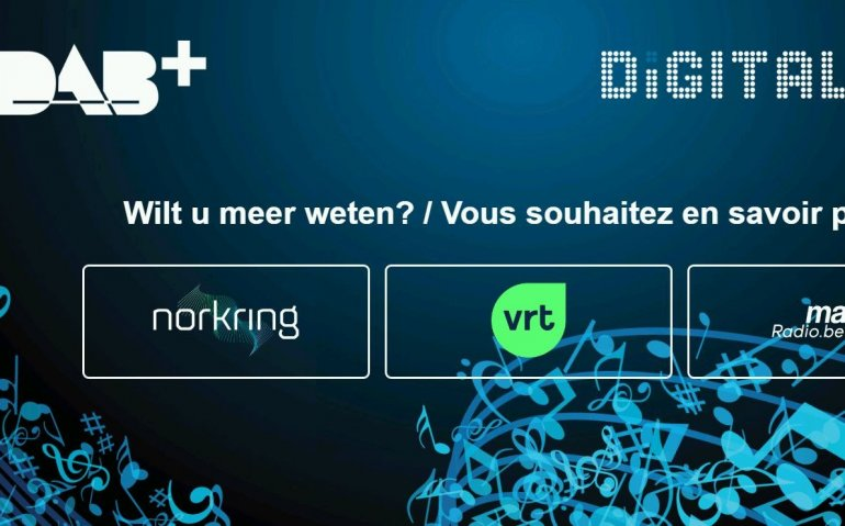 VRT vanaf nu met nieuwe uitzendnorm DAB+