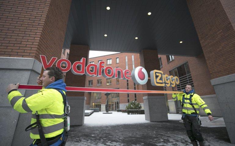 Vodafone en Ziggo nog meer samen