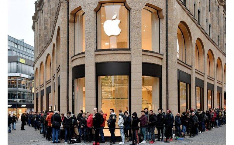 Chaotische taferelen rond introductie iPhone X