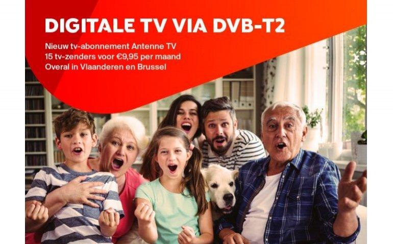 M7 Group rolt nieuw Belgisch DVB-T2 netwerk uit
