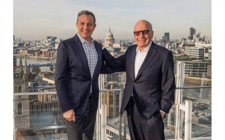Aankoop onderdelen Fox door Disney om Netflix bij te kunnen benen