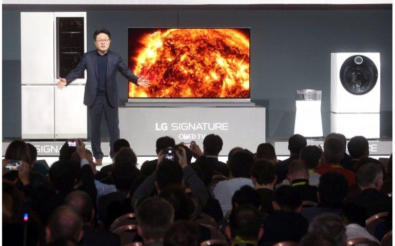 LG brengt grootste OLED-scherm op de markt