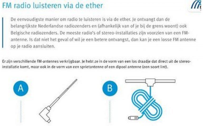 Delta Zeeland verkoopt klanten FM-antennes voor etherontvangst