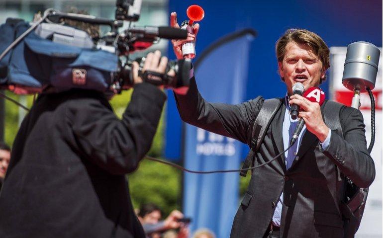 RTL passeerde Beau van Erven Dorens voor RTL Late Night