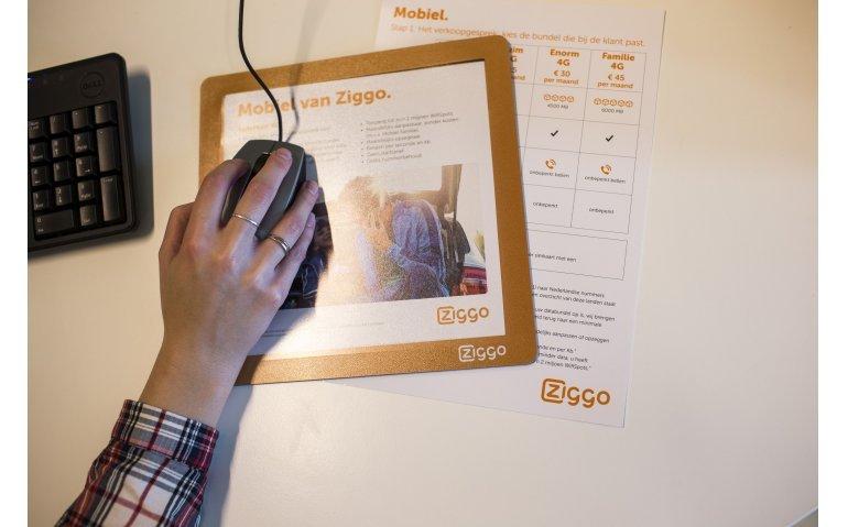 Internetcriminelen proberen Ziggoklanten te misleiden met 'trouwe klanten korting'.