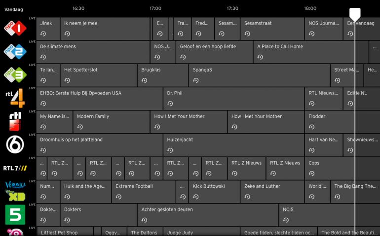 Terugkijken RTL-programma's bij Ziggo deels onmogelijk